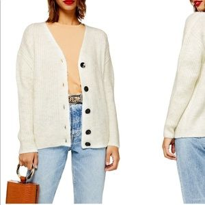 Topshop sweater/ cardigan